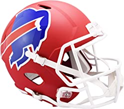 Riddell Buffalo Bills AMP Alternate Revolution Speed Replica Football Helmet - NFL Replica Helmets