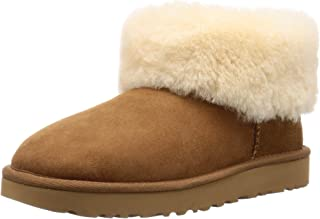 Women's Classic Mini Fluff Ankle Boot