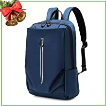 School Backpack, Multipurpose Casual Student Bag, Slim Durable Laptop Backpack with Large Compartment Fits 15.6 Inch Notebook or Tablet for University/Business/Travel/Work