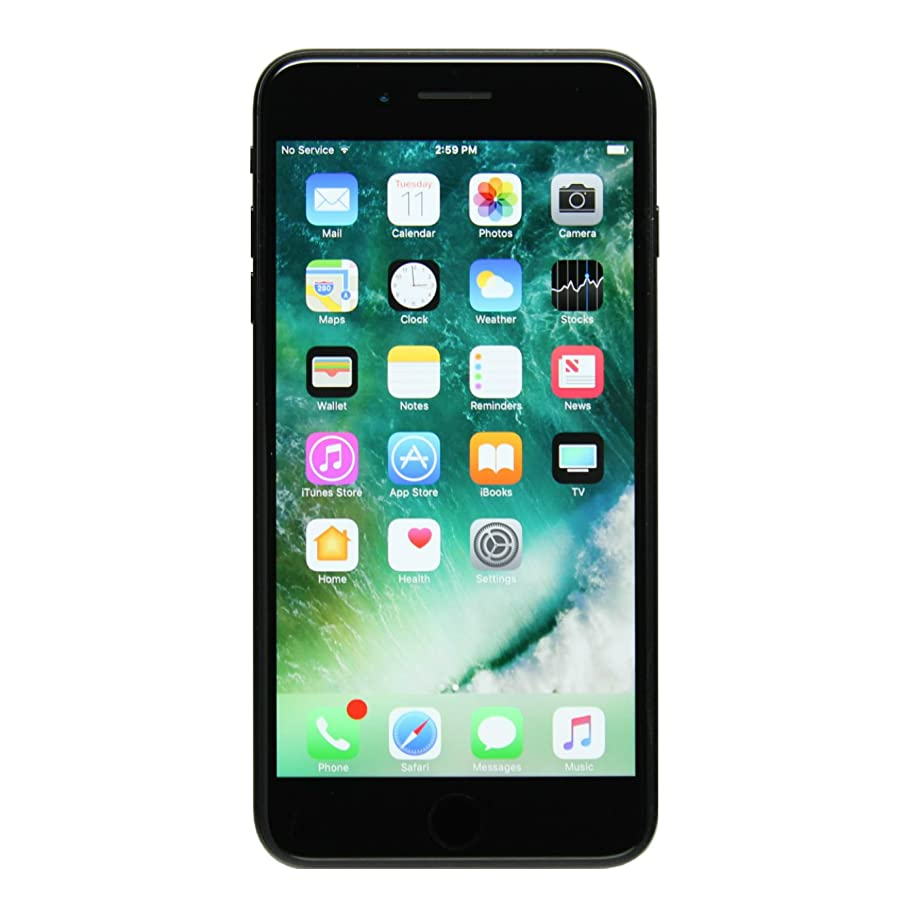 Apple iPhone 7 Plus 256GB Unlocked GSM Quad-Core Phone - Black (Renewed)