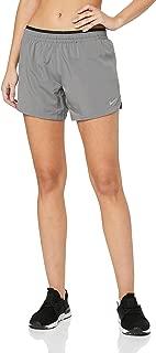Nike Womens Elevate 5'' Running Shorts Color Gunsmoke Size Medium