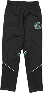 Gen2 Michigan State Spartans NCAA Youth Big Boys Precision Field Track Pants, Black