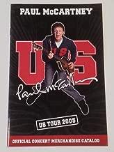 Paul McCartney 2005 U.S. Tour Merchandise Catalog
