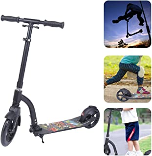 Compact and Light Two‑Wheeled Scooter, Folding Scooter, for Scooter Schoolyard Tool Equipment