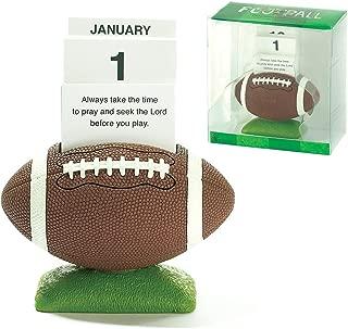 Football Perpetual Calendar with Scripture Verse Cards