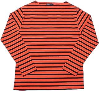 [セントジェームス]SAINT JAMES 長袖Tシャツ ウエッソン ギルド 2501 メンズ レディース 06.ネオンパーシモン×ネイビー 0 [並行輸入品]