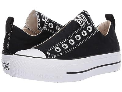 Converse Chuck Taylor(r) All Star(r) Lift Slip Ox (Black/White/Black) Women