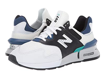 New Balance Classics MS997Jv1 (White/Morrocan Tile) Men