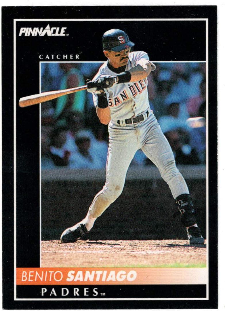 Benito Santiago - excellence Popular popular San Diego Padres Card Score 1992 Baseball Pi