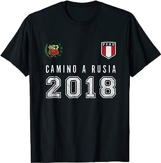 Peru Football, Soccer, Rusia 2018 tshirt - Camiseta Futbol