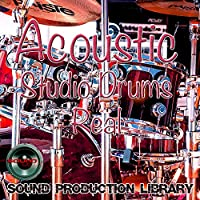 Acoustic Studio Drums Real - large very useful 24bit Wave Studio Samples Library on DVD or download