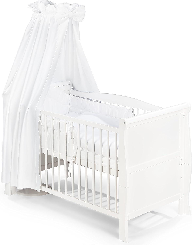 KOKO -Babybett   LILLY   Komplett  120x60 cm  weiss