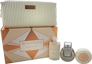 Bvlgari Omnia Crystalline Eau de Toilette + Body + Jabon + Neceser 140 ml