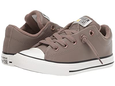 Converse Kids Chuck Taylor All-Star Street Red Rover Slip (Little Kid/Big Kid) (Mason Taupe/Vintage White) Boys Shoes