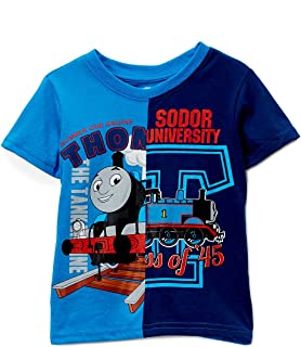 Thomas The Train Toddler Little Boys Soder Unviersity T-Shirt