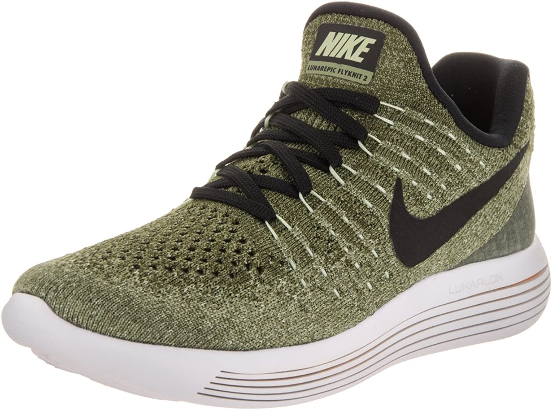 Nike Tanjun Laufschuhe Unisex, Schwarz Weiß, Größe 40,5, Grün - grün - Größe  9.5
