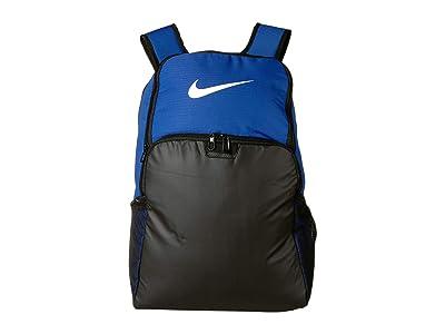 Nike Brasilia XL Backpack 9.0 (Game Royal/Black/White) Backpack Bags