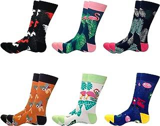 Men Dress Socks,Cool Colorful Fancy Novelty Funny Casual Cotton Fashion Patterned Socks