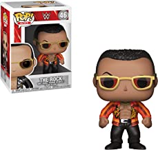Funko POP! WWE: - The Rock Old School (Styles May Vary) Collectible Toy