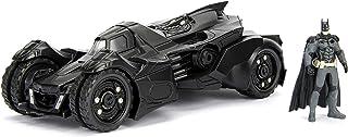 لعبة باتمان 2015،سيارة الفارس اركام وباتمان، مقولبة بهيكل مصبوب من المعادن، قابلة للتجميع، سيارة مع مجسم، من دي سي كوميكس