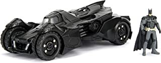 DC Comics Batman 2015 Arkham Knight Batmobile & Batman Metals Die-cast collectible toy vehicle with figure