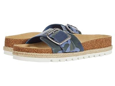 J/Slides Lust (Blue Camo Leather) Women