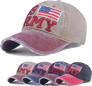 e9e3d38885f4bf Classic Baseball Cap Dad Hat U.S Flag Tactical Trucker Cap Men Washed  Baseball Cap