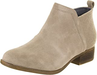 TOMS Womens Deia Closed Toe Ankle Fashion Boots, Tan, Size 3 Little Kid M