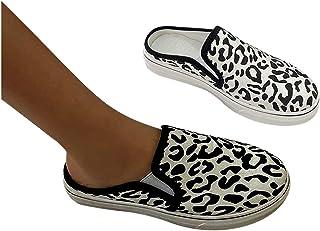 Flip Flops dames stoffen sneakers met luipaardprint sandalen comfortabele gymschoenen sportschoenen zomer lage top strand ...