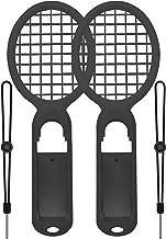 NS Switch Joy-con テニスラケット ハンドルホルダー マリオ テニスエース 黒