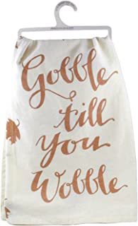 Gobble Til You Wobble Decorative Cotton Towel