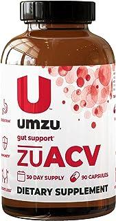 UMZU: zuACV+ Prebiotics - Apple Cider Vinegar Capsules & Prebiotics - 30-Day Supply