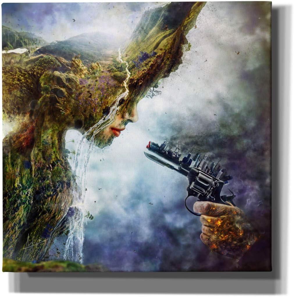 Cortesi Home 'Betrayal' by Mario Art Wall Canvas Nevado Milwaukee Mall Sanchez Dedication