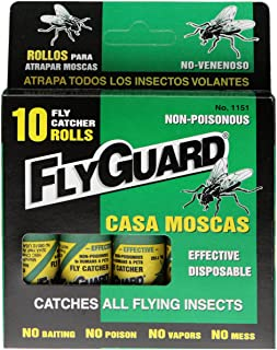 Flyguard Fly Catcher Catches All Flying Insects 10 Roll (1)