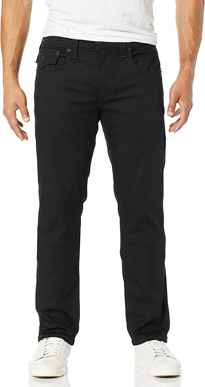 True Max 46% OFF Religion Men's Geno Slim Fit with Back Leg Jean Fl Straight 4 years warranty