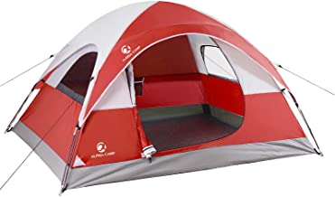 Best ALPHA CAMP 2/3 Person Camping Dome Tent with Carry Bag, Lightweight Waterproof Portable Backpacking Tent for Outdoor Camping/Hiking Review