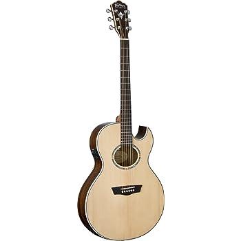 Washburn USM-EA20SNB Nuno Signature Series Acoustic Electric Guitar, Natural