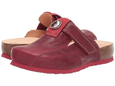 Think! Julia Hook-and-Loop Clog 85349 (Rosso) Women