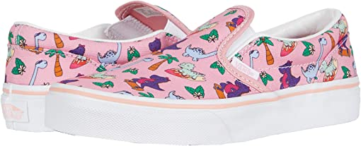 (Surf Dinos) Pink Icing/True White