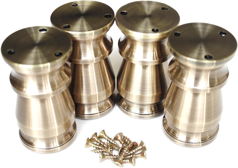 Buhoet Weekly update 3.15-4 Spring new work Inch Height Adjustable Alumin Metal Furniture Legs