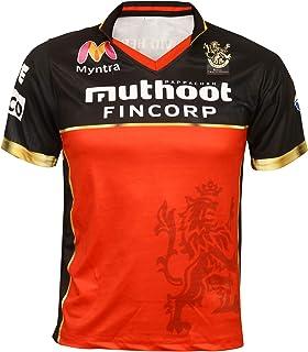 Cricket IPL Jersey Supporter Jersey T-Shirt 2020/21 MI, CSK, RCB,KKR,RR,KXIP,SRH and DC