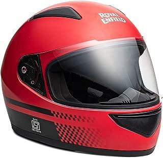 Royal Enfield Red Full Face With Visor Helmet Size (L)60 CM (RRGHEK000038)