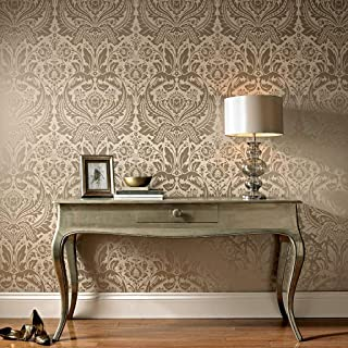 graham and brown desire taupe wallpaper