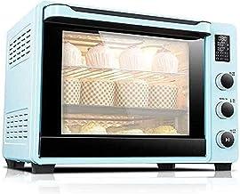 ASDFGH Mini four électrique électrique avec plaque de cuisson intelligente, 40 L, four halogène automatique, affichage LE...