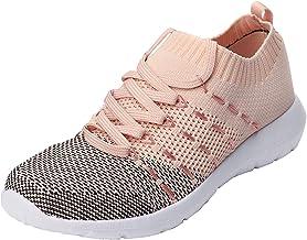 BingThL Chaussures de course pour femme, chaussures de sport, chaussures de tennis, chaussures de sport légères et respira...