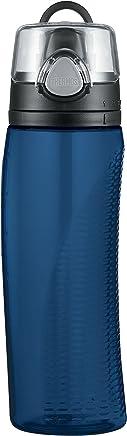 Thermos 膳魔师Nissan Intak Hydration带刻度盘防漏水杯  24盎司(682ml ),蓝色