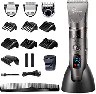 Hatteker Professional Hair Clipper Cordless Clippers Hair