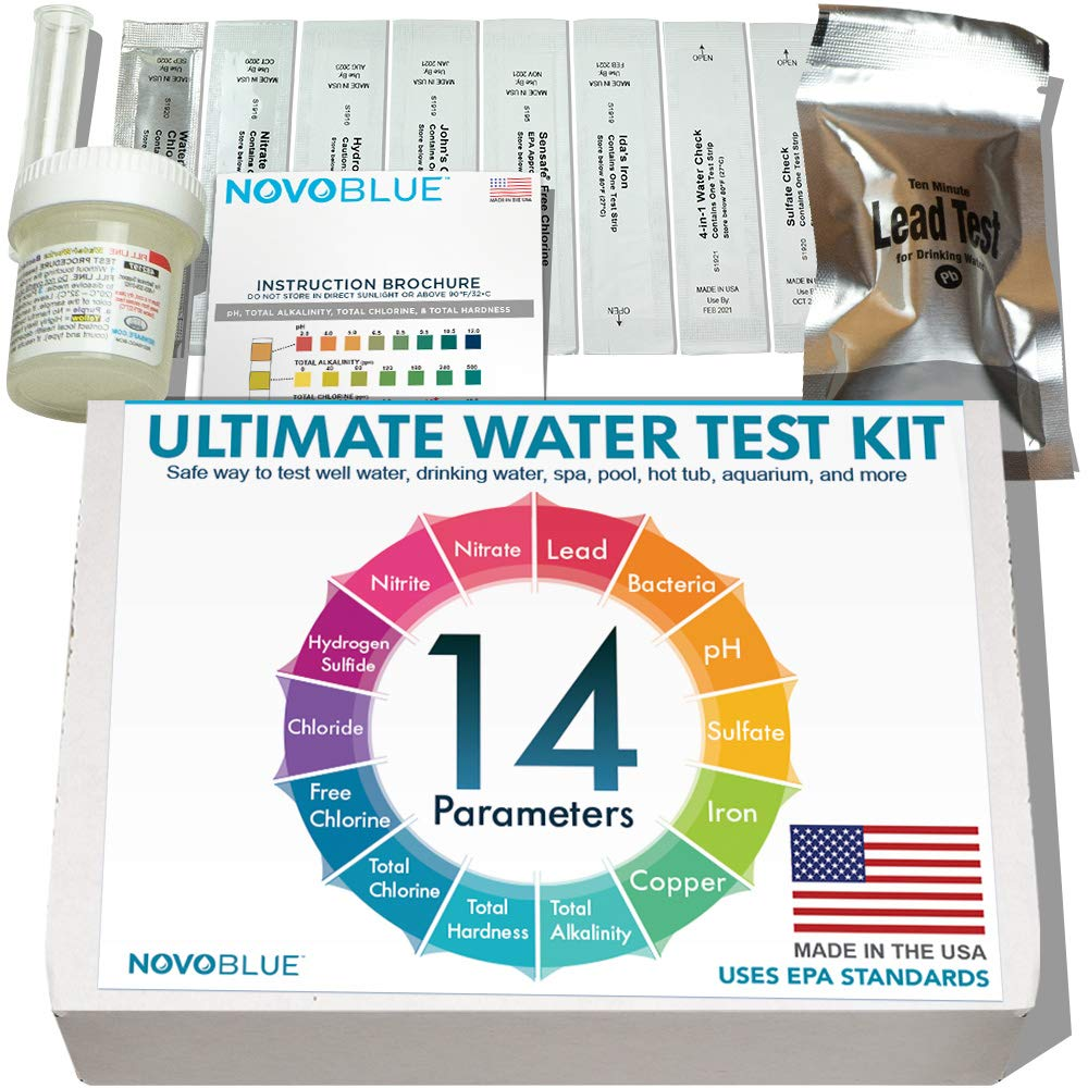 NovoBlue 14 Home Water Test
