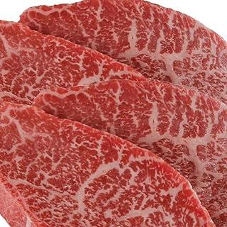 数量限定販売【Amazon.co.jp限定】 特選松阪牛専門店やまと A5等級 黒毛和牛 心芯ステーキ 100g 4枚 国産牛肉 ステーキ ローストビーフにも