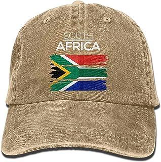 South Africa Vintage Jeans Adjustable Baseball Cap Natural Cotton Denim Dad Hat